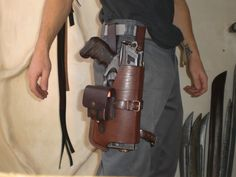 Nerf Holster Prototyp-1.5 by ~Leder-Joe on deviantART