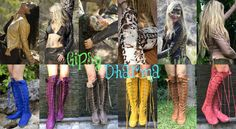 Awesome boots made by Gipsy Dharma. Giveaway contest! Enter http://www.gipsydharma.com/pages/giveaways