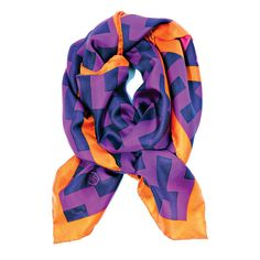 "Jonathan Adler!! scarf.  ""A dash hippie, and a dollop socialite.""  Love his entry into apparel!"