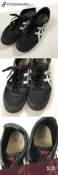 Onitsuka Tiger ASICS Men's size 11 Onitsuka Tiger ASICS Men's size 11 shoes. Used but still in really good shape. Super comfortable shoes. Some piling is visible on them, especially on the back, see pic. Any questions please ask! Onitsuka Tiger by Asics Shoes Sneakers