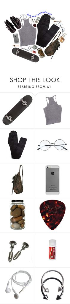 """//i'll go to sleep at a decent time when i find something worth waking up for//"" by abigialtheturtle ❤ liked on Polyvore featuring Rick Owens, Helmut Lang, Case-Mate and Pieces"