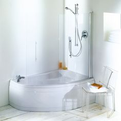 Space Utilization of Small Bathroom love the expanded shower