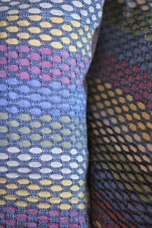 "Stockumer Wollwerkstatt: Muster ""Honeycomb"" Weaving Wall Hanging, Weaving Art, Loom Weaving, Hand Weaving, Weaving Designs, Weaving Projects, Honeycomb Pattern, Stripe Pattern, Fabric Manipulation"