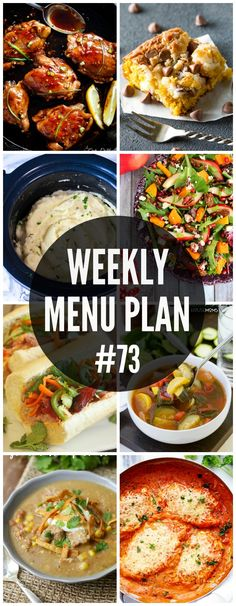 An all new delicious weekly menu plan to help you plan out your week! We have gotten together with some of our favorite food bloggers to bring you this custom weekly menu plan. We will all be sharing some of our favorite recipe ideas for you to use as you are planning out your meals …
