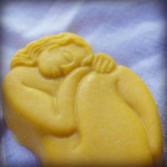 Goat milk soap with tangerine essential oils by creationsbycorina
