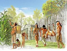 Native American Games, Native American Artwork, Native American Indians, Native Americans, 3d Photoshop, Woodland Indians, Indigenous Art, Figure Painting, Ancient History