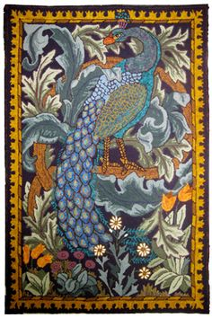 William Morris tapestry: Encompassing Designs