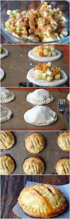 Salted Caramel Apple Hand Pies - Yum!
