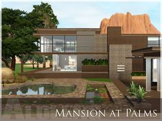 Mansion at Palms house by aloleng - Sims 3 Downloads CC Caboodle