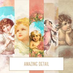 Wings of an angel (digital paper pack) - Thumbnail 2