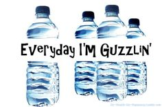 """Everyday I'm guzzlin'."" And peeing."