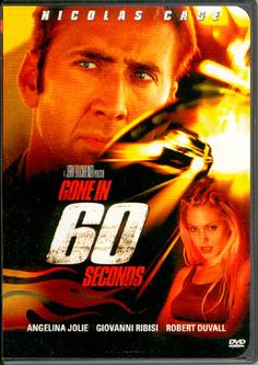 Gone in 60 Seconds - I don't know why, but EVERY time this movie comes on TV, I watch it.  I'm not even a big fan of Nicholas Cage or Angelina Jolie, but I LOVE this movie.