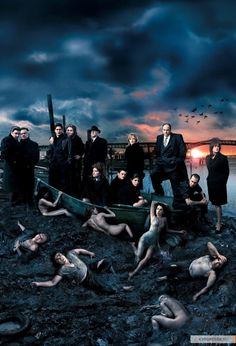 The Sopranos - Never finished watching this series but I can really appreciate a good gangster series.