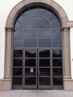Eurofineline by Colletti Design - University of San Diego - Steel Windows and Doors Steel Windows, Windows And Doors, University Of San Diego, Wrought Iron Doors, Garage Doors, Outdoor Decor, Design, Home Decor, Modern Gates