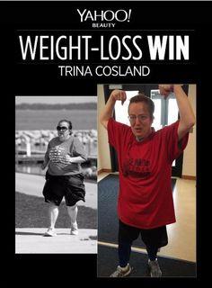 """Trina Crosland nahm 88 Kilo ab: """"Ich wollte nicht den Rest meines Lebens zurückgezogen leben."""" #Diät #Abnehmen #VorherNachher"""