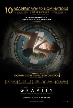 BRITISH film Gravity was the big winner at last night's Oscars, with director Alfonso Cuaron also collecting the Best Director award - although 12 Years A Slave picked up the night's big prize, for Best Picture. Film Science Fiction, Fiction Movies, Sci Fi Movies, Pulp Fiction, Movies To Watch, Good Movies, Movie Tv, Space Movies, Indie Movies