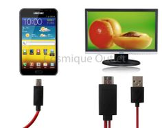 MHL Micro USB 11pin to HDMI HDTV Cable Adapter Samsung Galaxy S3 SIII S4 Note 2
