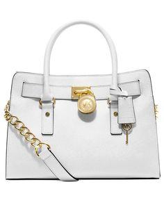2f86e37845e9 MICHAEL Michael Kors Hamilton Saffiano Leather East West Satchel - Michael  Kors Handbags - Handbags &
