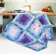 Rowan Kaffe Fassett Collective Fabric & Ripples Pattern Quilt Kit