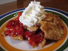 """I forgot all about this """"cobbler"""" until I saw it on Three on Food's Favorite Dessert of 2009 ! Reason number #128 to have a food blog... yo..."""