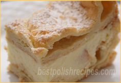 The Karpatka Cake from Best Polish Recipes