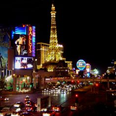 Vegas. It is my city, and it's where I belong. <3