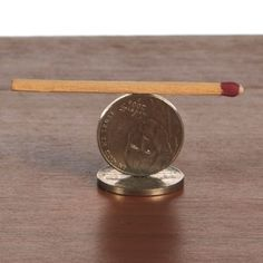 Spinning Match Table Trick - this might be a fun one for the cub scouts