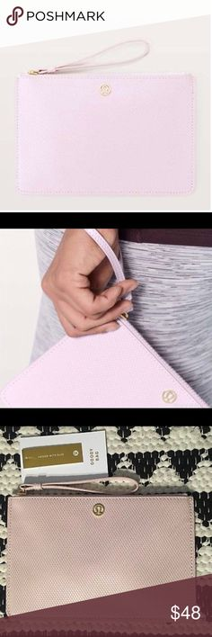 Lululemon goody bag Light pink goody bag with a diamond texture feel and look! Still has the tag on. lululemon athletica Accessories