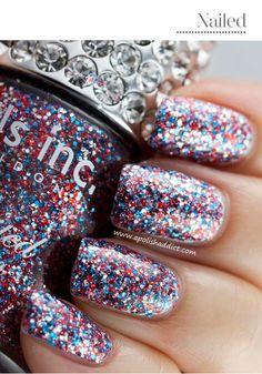 Awesome confetti polish