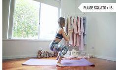 pulse squats