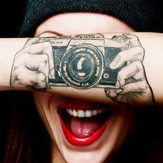 Probably the coolest tattoo I've ever seen. #LeonardoMendoza.com #Videographer