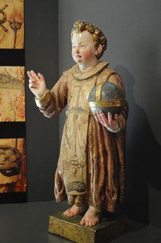 Niño Jesús. Anónimo (1620). Catedral de El Salvador. Santo Domingo de la Calzada (La Rioja)  (By Paula)