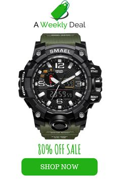 The reinvented SMAEL Military Shock Watch is the new standard in military watches. When soldiers asked, SMAEL listened. They requested a rugged and hardened, water–resistant military watch and the SMAEL Shock Watch steps up to their request. This popular G Shock Watches, Cool Watches, Watches For Men, Men's Watches, Casual Watches, Style Brut, Airsoft, S Shock, Tactical Clothing