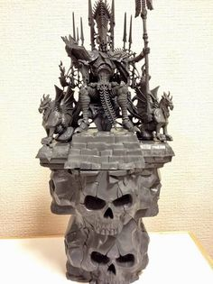 Nagash on Throne – Conversion Corner   Spikey Bits