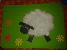 ovečka - z vaty sheep