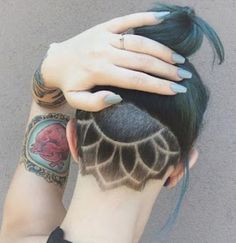 Undercut for women