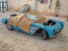 junkyard dio 57 Corvette