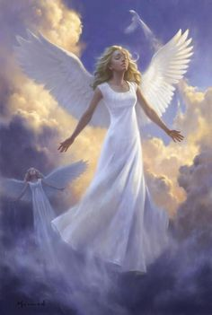 Angels....one of the nicest spiritual symbols there is ~ when depicted of Love!
