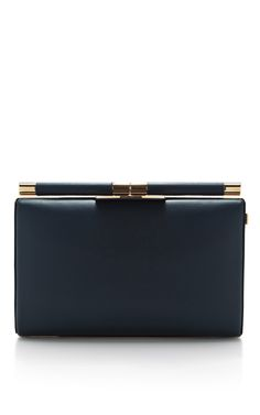 Jamie Small Leather Clutch by Tyler Alexandra Now Available on Moda Operandi