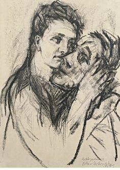 Oskar Kokoschka, Alma Mahler und Oskar Kokoschka, 1913 © Leopold Museum, Wien, Inv. 4667