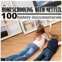History documentaries give us a chance to dive deeper into historical events from various perspectives. Here are 100 to help you homeschool with Netflix...