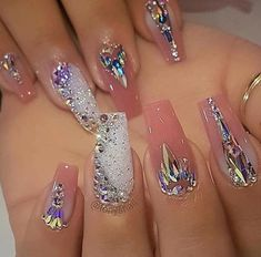 "Determine additional details on ""top nail art designs"". Have a look at our site. Sexy Nails, Glam Nails, Love Nails, Beautiful Nail Designs, Cute Nail Designs, Acrylic Nail Designs, Acrylic Nails, Coffin Nails, Gel Nail"