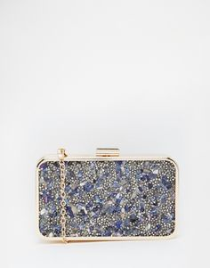 Liquorish+Embellished+Clutch+Bag