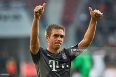 Bayern Munich captain Philipp Lahm has only appeared six times in the league for his club this season, but team-mate Martinez believes his skipper could still have four years left in the tank. Philipp Lahm, World Football, English Premier League, Still Have, Fifa, Soccer, Baseball Cards, Munich, Daily Mail