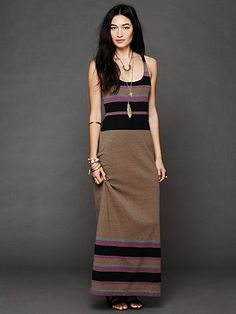Free People O Maya Maxi Dress