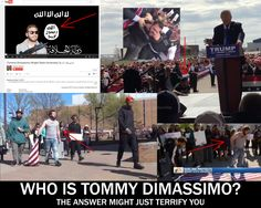 UPDATE: The attacker was let out on bail because the judge says he didn't know his background (see below)  Conservative Treehouse  A Donald Trump rally took a dramatic turn Saturday when a thug Named Tom Dimassimo  tried to rush the state behind the GOP frontrunner.  Secret Service agents tackled Dimassimo and simultaneously formed a wall around Donald Trump: