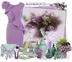 """Sweet purple"" by albaor on Polyvore"