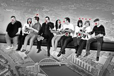 Aiming high – all for a girder cause: River City cast members recreate the famous image lunch atop a skyscraper for the launch of Comic Relief's Red Nose Day campaign. Red Nose Day takes place on Friday 15th March. Visit www.rednoseday.com for more informationUna McLean, who plays Molly O'Hara in River City said It was brilliant fun to get involved with the launch of Comic Relief's Red Nose Day campaign. Red Nose Day is such a simple way for everyone to raise money to help people in the UK…