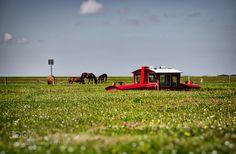 Inselbahn on island langeoog by manfreduhr