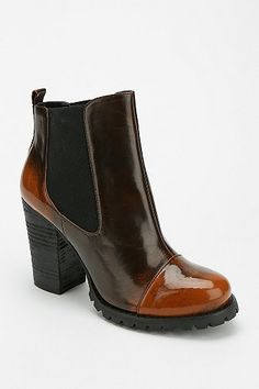 Bobby Heeled Ankle Boot
